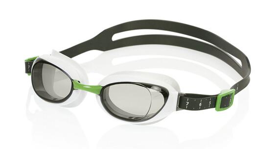speedo Aquapure Mirror Goggle White/Smoke